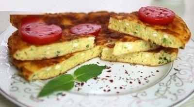 پیراشکی املت خوشمزه مخصوص صبحانه!+عکس