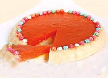 کرم کیک خرمالو سبکی جدید و بسیار لذیذ! +عکس