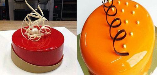 شما هم می تونید کیک براق درست کنید +تصاویر