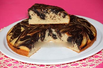 کیک موکای لذیذ و بسیارآسان! +عکس