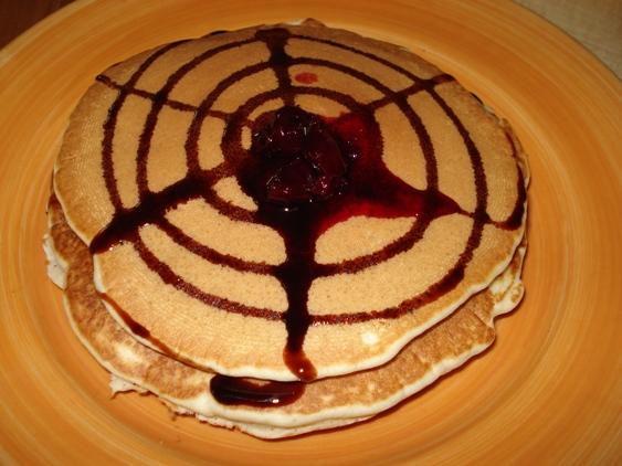 صبحانه رویایی با پنکیک مربایی!+عکس