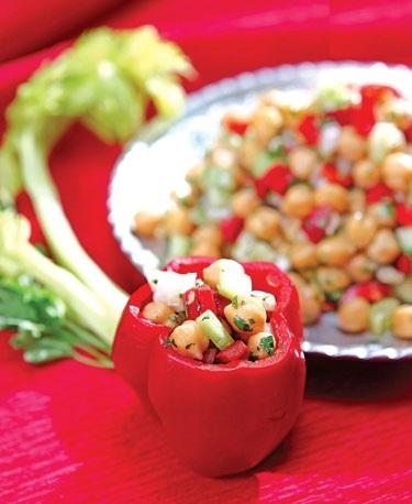 دلمه جدید و متفاوت با نخود و سبزیجات!+عکس