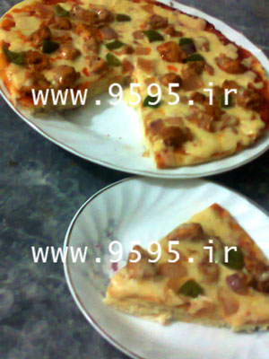 پیتزا سویای متفاوت و لذیذ با خمیر یوفکا! +عکس