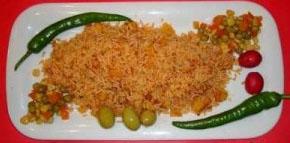 غذای لذیذ و دریایی استامبولی پلو با میگو +تصاویر