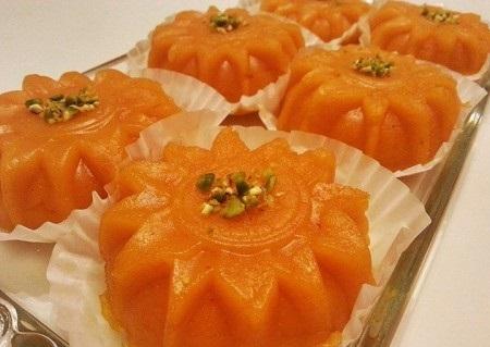 حلوای پاییزی با هویج!+عکس