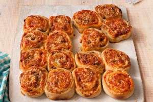 پیتزا تک نفره شیک و باکلاس را اینگونه درست کنید!! +عکس