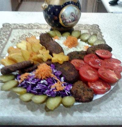 طرز تهیه کتلت سبزیجات +عکس