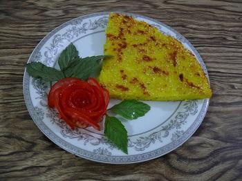 طرز تهیه کوکو کنجدی لذیذ با ارزش غذایی بسیار بالا +عکس