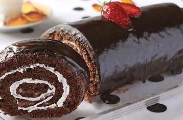 کیک رولت فوق العادع با رویه شکلات!+عکس