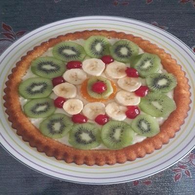 کیک تارت میوه ای مخصوص زمستان!+عکس