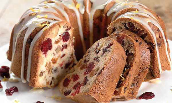 کیک بدون شکر، با طعم طبیعی میوه ها +عکس