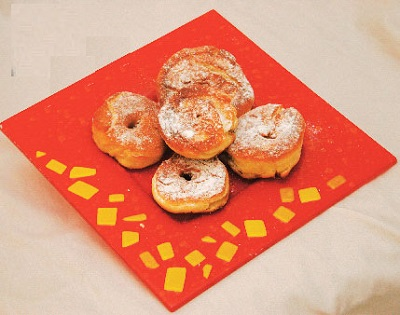 پیراشکی ، شیرینی محبوب کودکان!+عکس