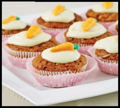 کاپ کیک هویج و دارچین را چگ.نه درست کنیم؟!+عکس