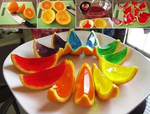 بفرمایید پرتقال ژله ای! + عکس