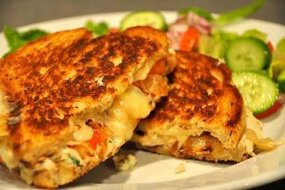 ساندویچ تناملت آسان و خوشمزه! +عکس
