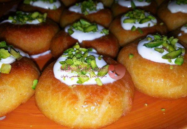 حلقه های شربتی, یک دسر شیک و لذیذ برای مهمانیهای شما! +عکس