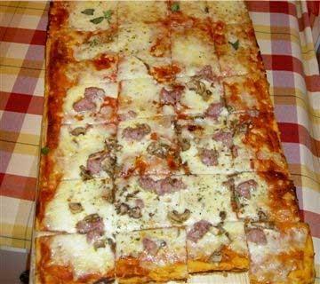 پیتزای لازانیا را حتما امتحان کنید! +عکس
