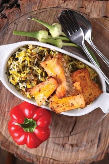 بریانی ماهی به سبک هندی!+عکس