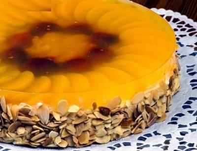 چیز کیک لذیذ با ژله آناناس!+عکس