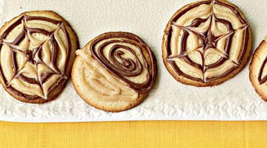 کوکی رژیمی ، با کره بادام زمینی و شکلات +عکس