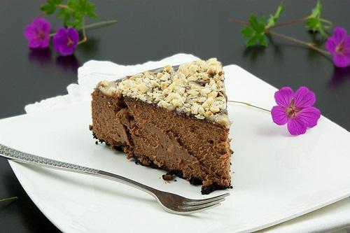 چیز کیک رویایی با شکلات تخته ای!+عکس
