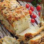 طرز تهیه نان سیر با سبزی و پنیر ، پیش غذای متفاوت +عکس