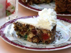 طرز تهیه کیک میوه