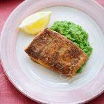 طرز تهیه ماهی با پوره کلم بروکلی با روشی بسیار ساده +عکس