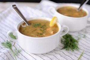 طرز تهیه آبگوشت سالمون