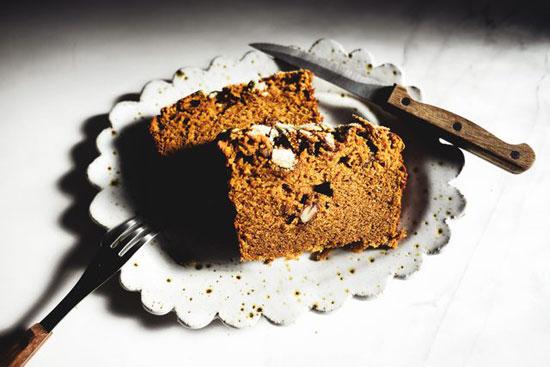 طرز تهیه نان کدو نانی خوش عطر و خوش طعم برای فصل های پاییز +عکس