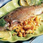 طرز تهیه ماهی شکم پر محبوب و لذیذ +عکس