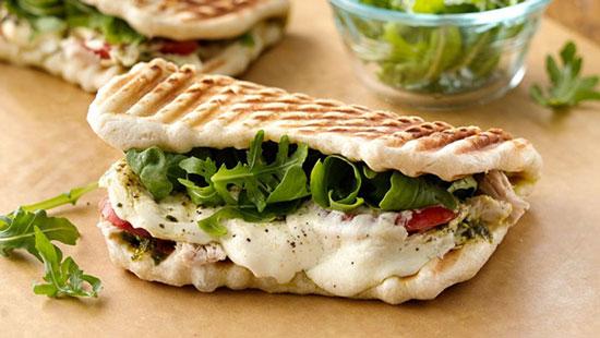 طرز تهیه ساندویچ پانینی مارگاریتا ، برای کودکان شما +عکس