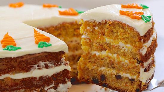 طرز تهیه کیک هویج | خوشمزه ترین کیک اسفنجی +عکس