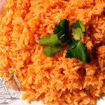 طرز تهیه پلو مکزیکی دورچین مناسب مرغ و گوشت +عکس
