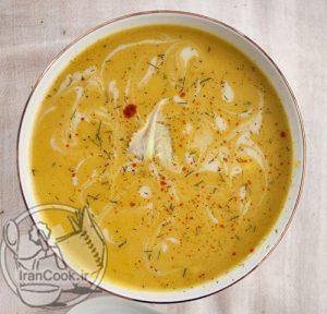 طرز تهیه سوپ گل کلم خامهای