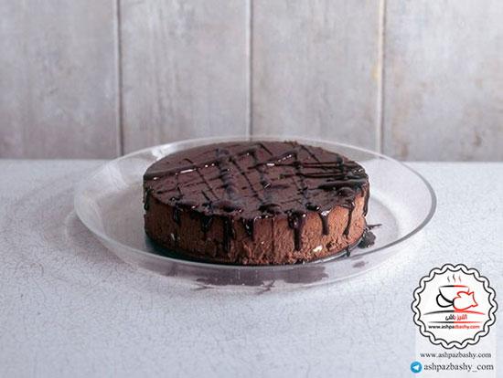 طرز تهیه چیز کیک شکلاتی +عکس