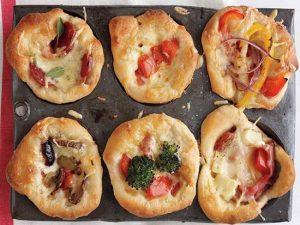 طرز تهیه مینی پیتزا