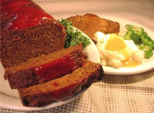 طرز تهیه میتلف گوشت ، غذایی قالبی به شکل کیک +عکس