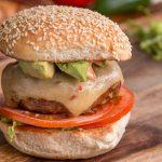 طرز تهیه برگر با گوشت بوقلمون +عکس