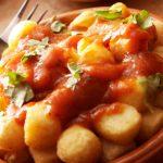 طرز تهیه تاپاس سیب زمینی ، پیش غذای اسپانیایی+عکس