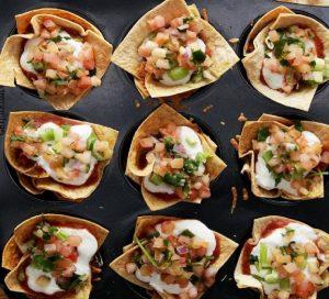 طرز تهیه پیش غذای ۷ لایه مکزیکی