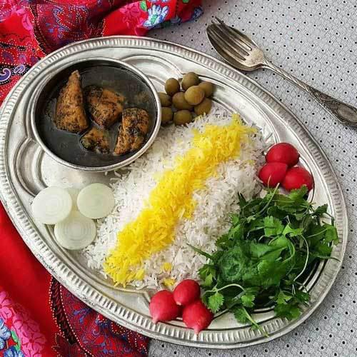 طرز تهیه قلیه ماهی بوشهری +عکس