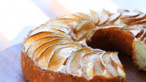 طرز تهیه کیک سیب و دارچین