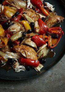 طرز تهیه مرغ کبابی به سبک ایتالیایی