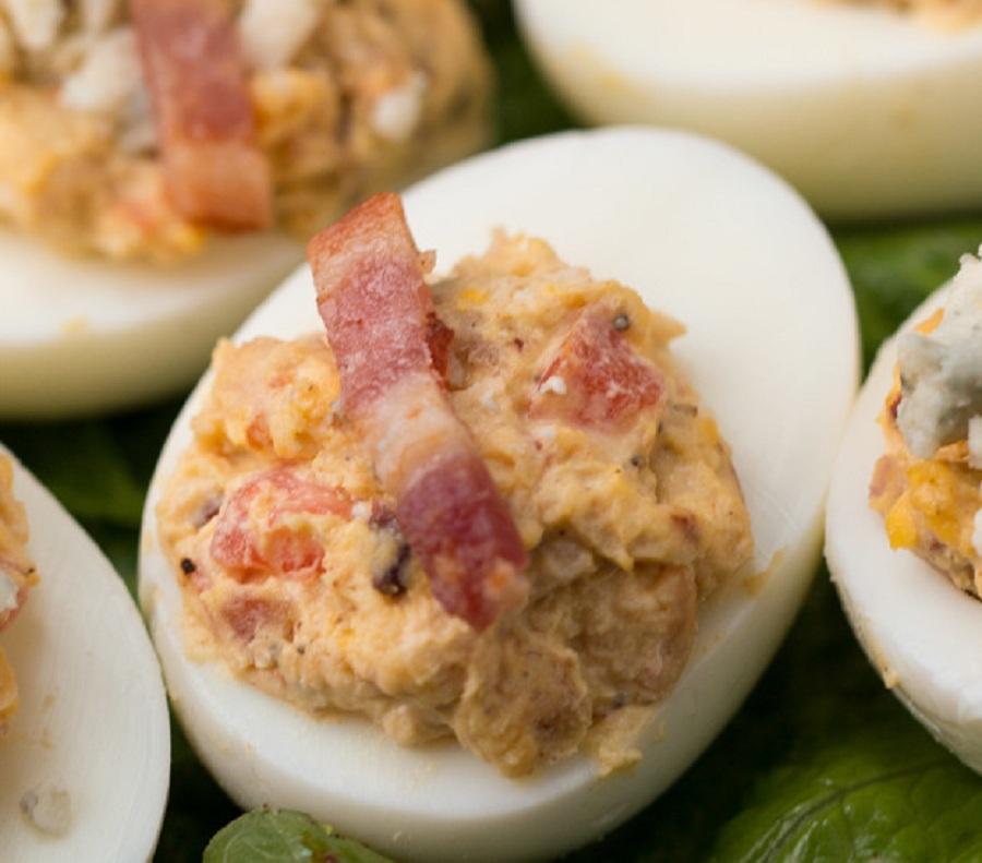 طرز تهیه سالاد تخم مرغ آب پز یک پیش غذای عالی پروتئین دار +عکس