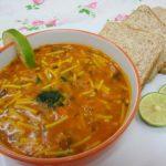 طرز تهیه سوپ مرغ و ورمیشل +عکس