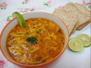 طرز تهیه سوپ مرغ و ورمیشل
