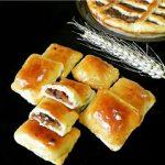 طرز تهیه نان های مغزدار +عکس