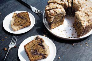 طرز تهیه کیک دارچین و قهوه