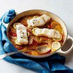 طرز تهیه ماهی با گوجه و سیب زمینی +عکس